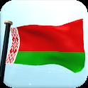 Belarus Flag 3D Live Wallpaper icon