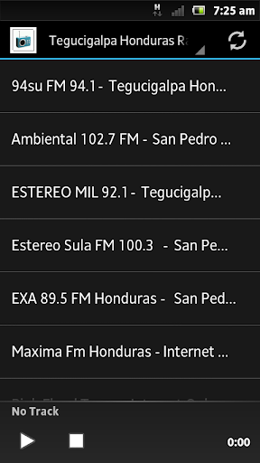 Tegucigalpa Honduras Radios