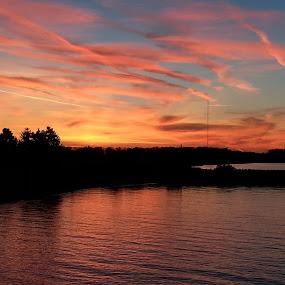 Lake Erie by Sandra Fouty - Landscapes Sunsets & Sunrises