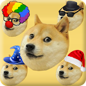 Swipe the Doge icon