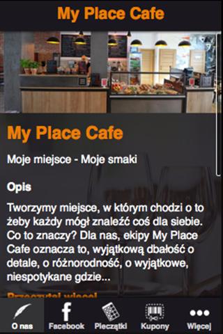 【免費娛樂App】My Place Cafe-APP點子