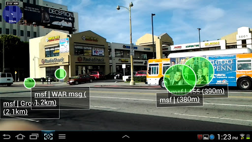 Widespread Augmented Reality 1