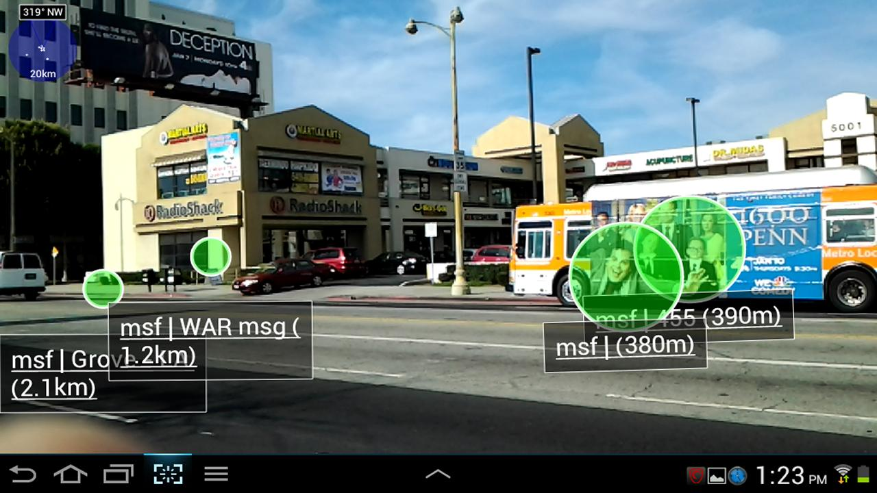 1 Widespread Augmented Reality - screenshot