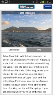 Getaway Guide to Cape Town - screenshot thumbnail