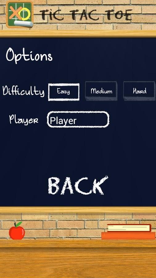 TIC TAC TOE Chalkboard PRO - screenshot