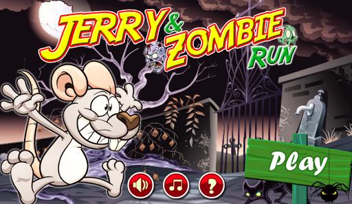 傑里 - 殭屍鼠標運行