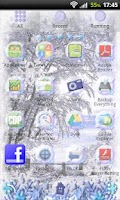 Screenshot of GO Launcher EX Winter Theme