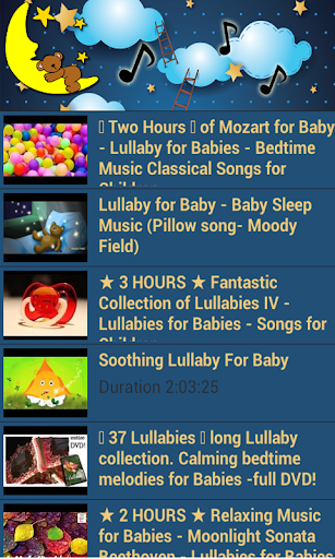 【免費音樂App】Lullaby for baby-APP點子