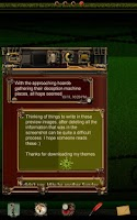 Screenshot of Steampunk GO Message Theme
