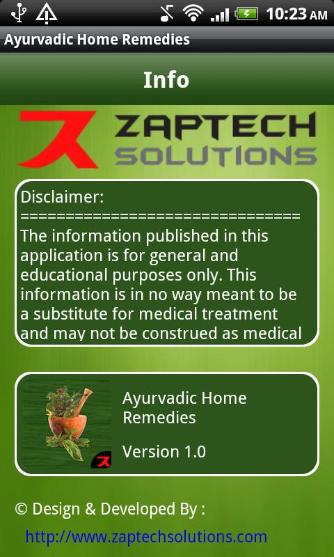 Ayurvedic Home Remedies- screenshot