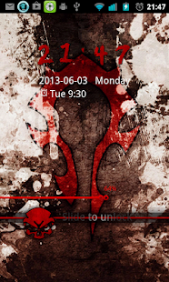 WoW Horde Go Locker Theme - screenshot thumbnail