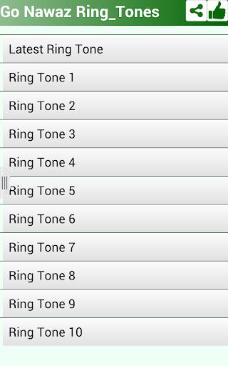 Go Nawaz Go RingTones
