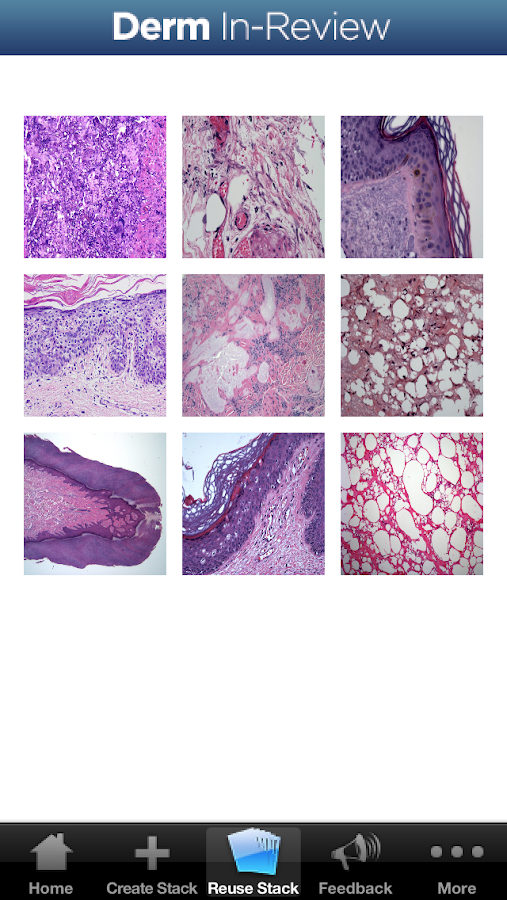 Dermatology In-Review- screenshot