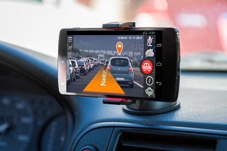 Car DVR & GPS navigator 2