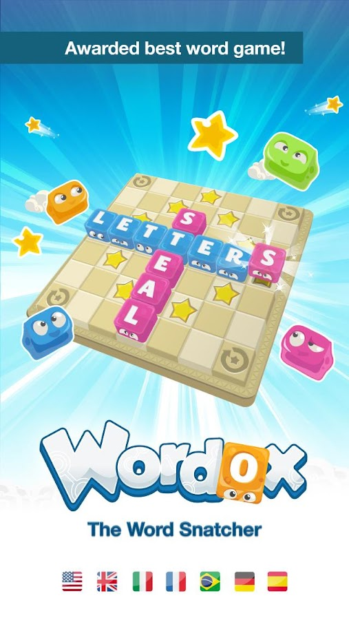 Wordox The Word Snatcher - screenshot
