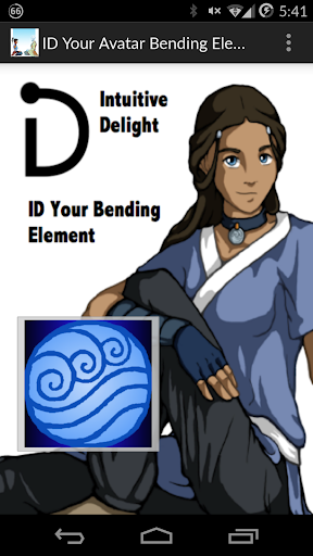 ID Your Avatar Bending Element