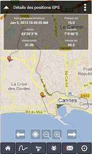 Parcours GPS Live Social Photo - screenshot thumbnail