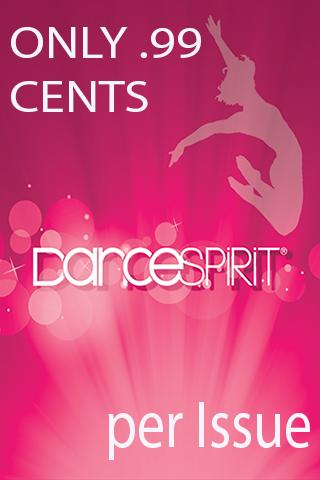 Dance Spirit Magazine- screenshot