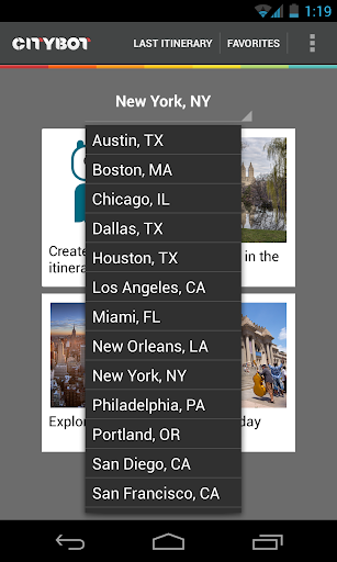 Citybot Smart Travel Guide