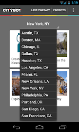 Citybot Smart Travel Guide Screenshot 1
