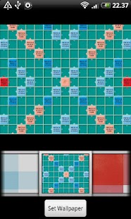 Scrabble GO Launcher EX Theme - screenshot thumbnail