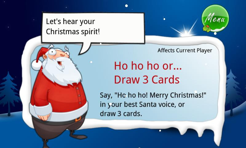 Christmas Crazy Eights - screenshot