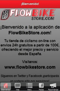FlowBikeStore.com- screenshot thumbnail