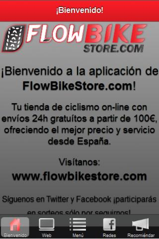 FlowBikeStore.com - screenshot