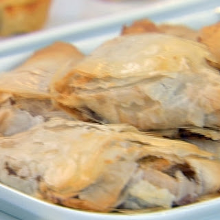 Apple Cranberry Filo Turnovers