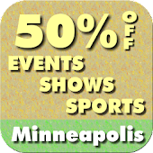 50% Off Minneapolis Events