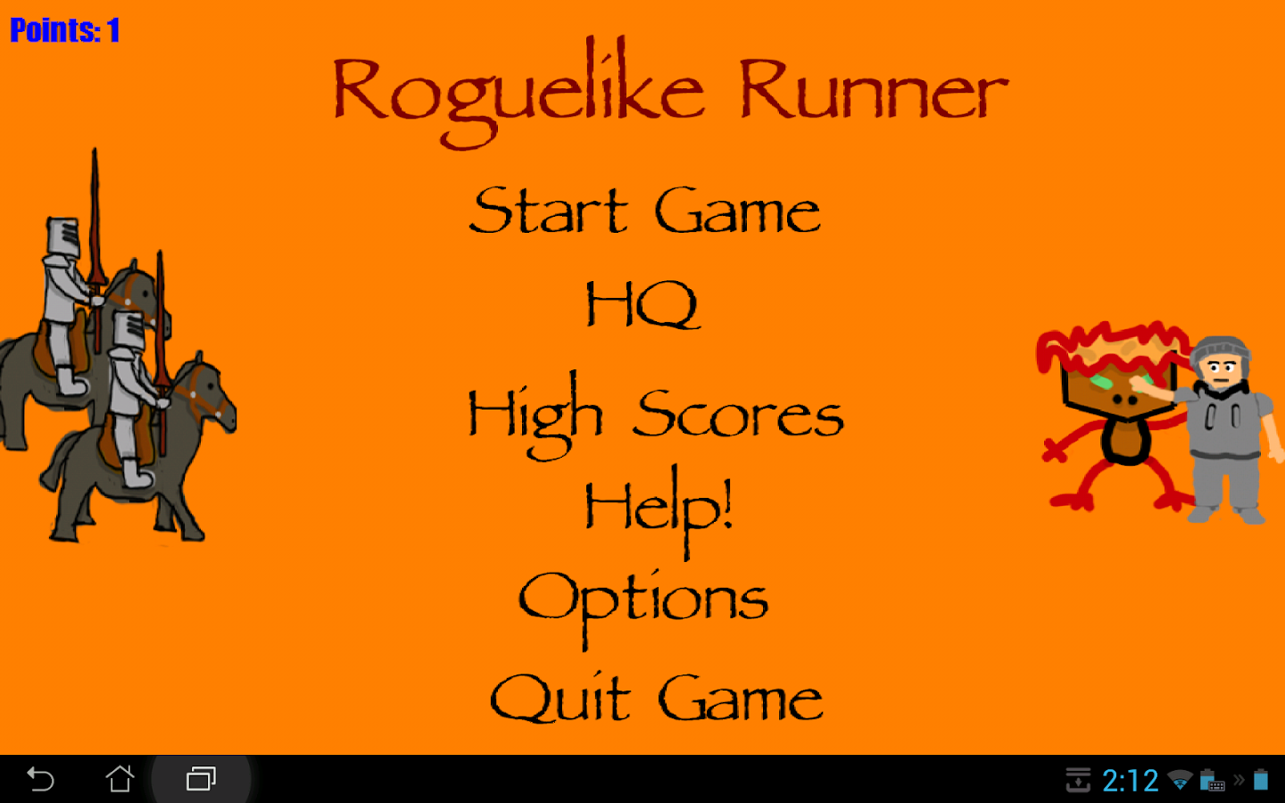 Roguelike Runner - screenshot