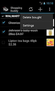 Shopping Buddy (Shared List) screenshot 4