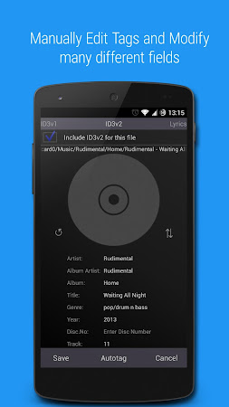 Music Tagger - Tag Editor 1.1.9r screenshot 393716