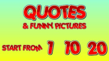 Screenshot of Quotes & Funny pictures