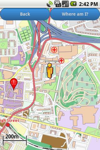 Glasgow Amenities Map (free)  screenshots 3