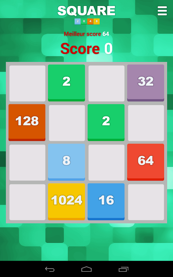 Square 2048- screenshot