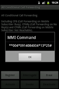 Advanced Call Settings - screenshot thumbnail