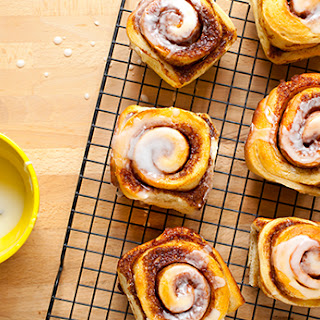 Cinnamon Rolls with Icing