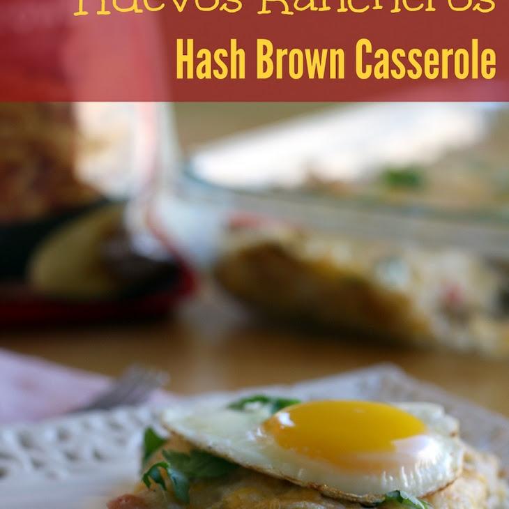 Huevos Rancheros Hash Brown Casserole Recipe