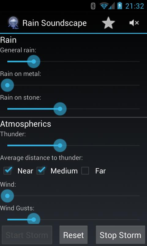 Rain Soundscape (Free) - screenshot
