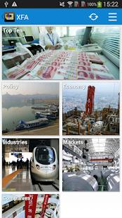 Xinhua Finance Agency - náhled