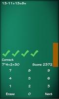 Screenshot of Math Solver