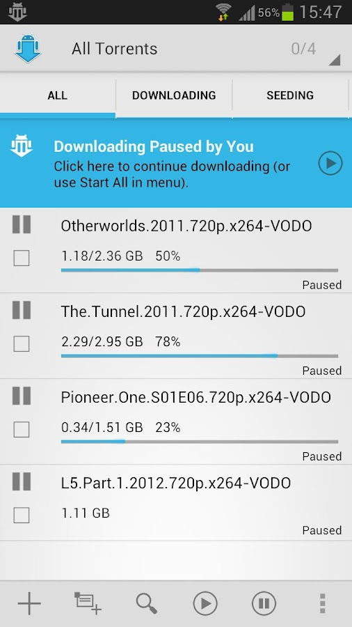 aTorrent PRO - Torrent App - screenshot