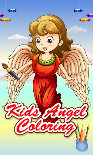 Kids Angel Coloring