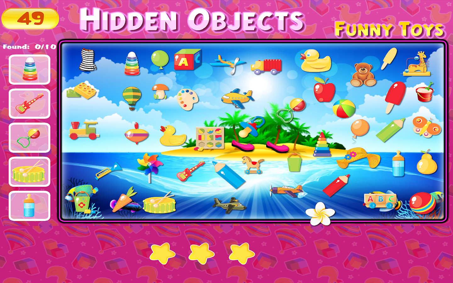 Funny Toys Hidden Objects- screenshot