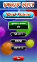 Screenshot of Drop Hit!
