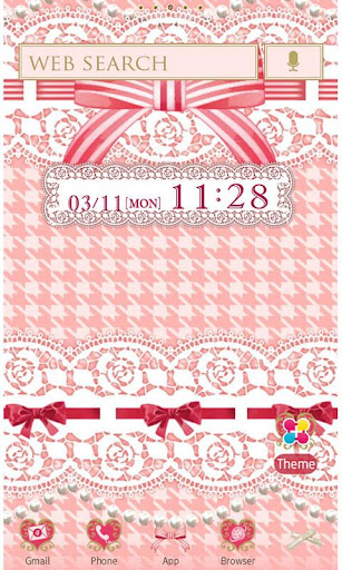 Ribbons and Lace Wallpaper 1.4 Windows u7528 1