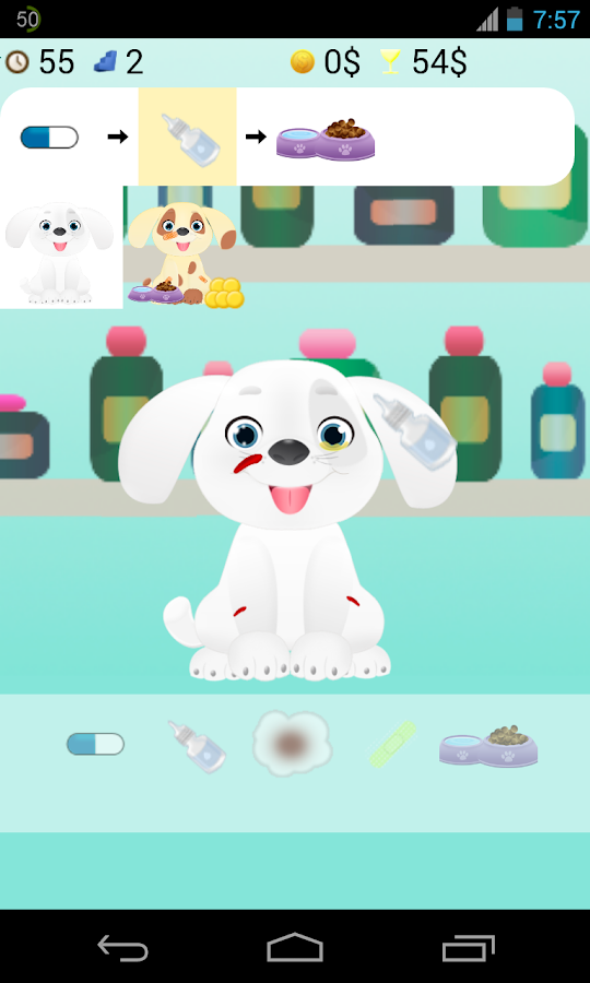 pet doctor games- screenshot