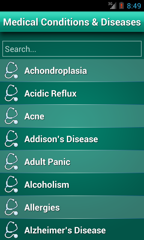 Diseases Dictionary ✪ Medical- screenshot