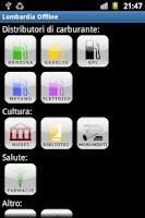 Screenshot of Lombardia Offline